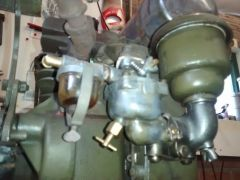Briggs model N with bendix westinghouse compressor