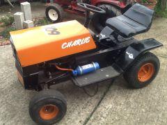 image racing mower