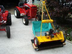 "1958 ATCO 24"" Sidewheel Mower SH4."