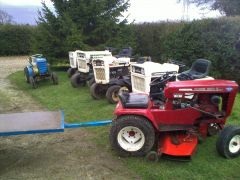 Selection of tractors