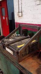 Lorry battery box