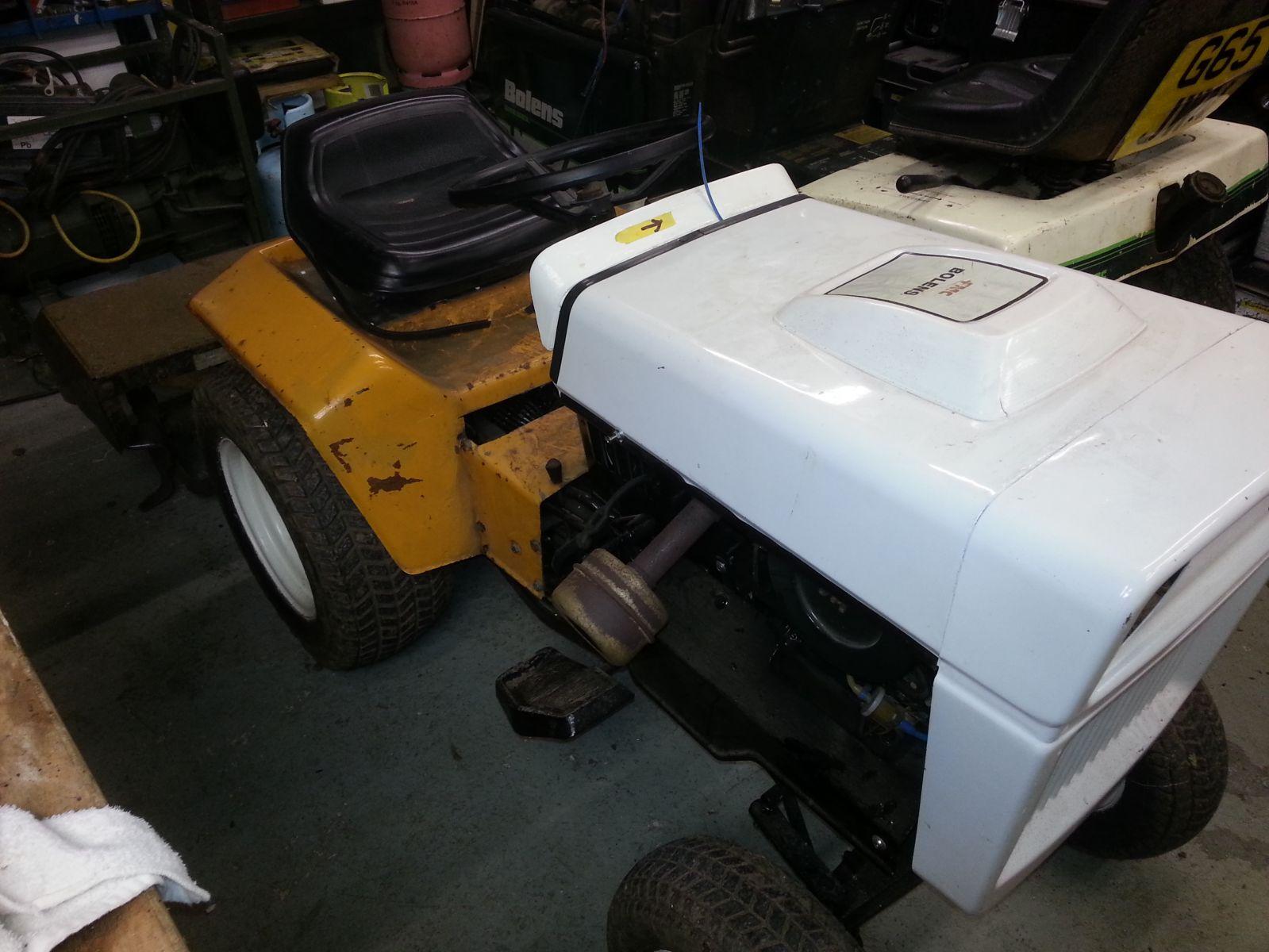 Bolens tractors - My Old Machine