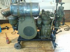 Briggs model N with bendix westinghouse compressor