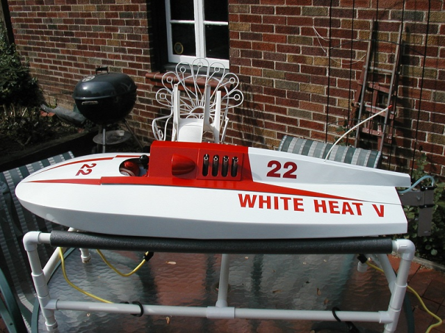 White Heat V - RC Hydroplane - Ohlsson and Rice - My Old Machine